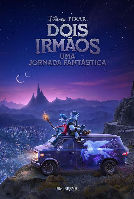 Pôster promocional do filme - Créditos: Disney
