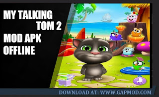 Download My Talking Tom 2 V1.8.1.851 APK MOD Unlimited Money