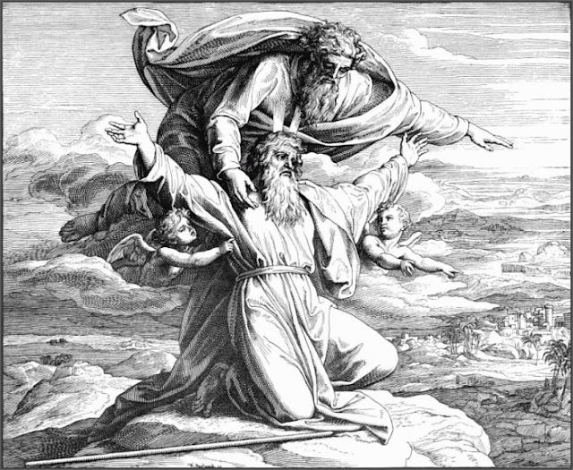 O Senhor mostra a Moisés a Terra Prometida