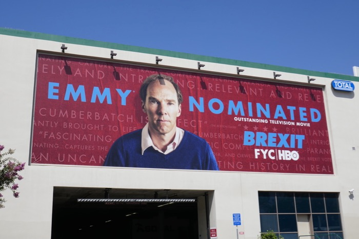 Brexit Emmy nominated billboard