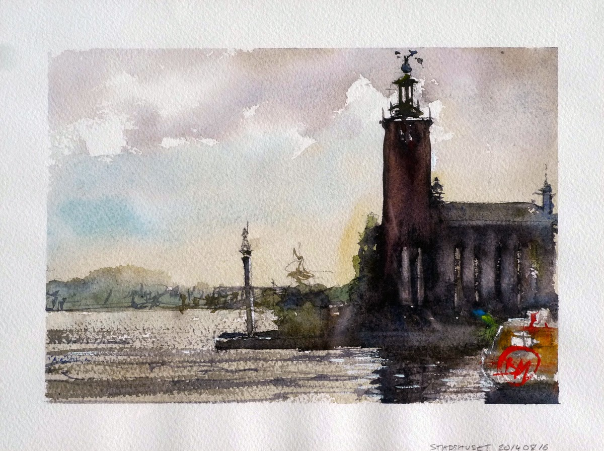 Stockholm Town Hall by David Meldrum