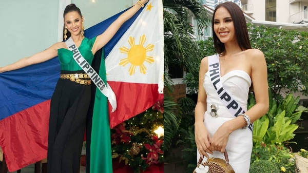 Catriona Gray hints her Miss Universe national costume will represent 'Christmas'