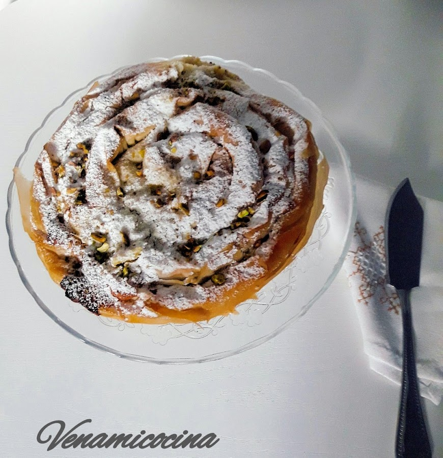 pastel serpiente marroquí