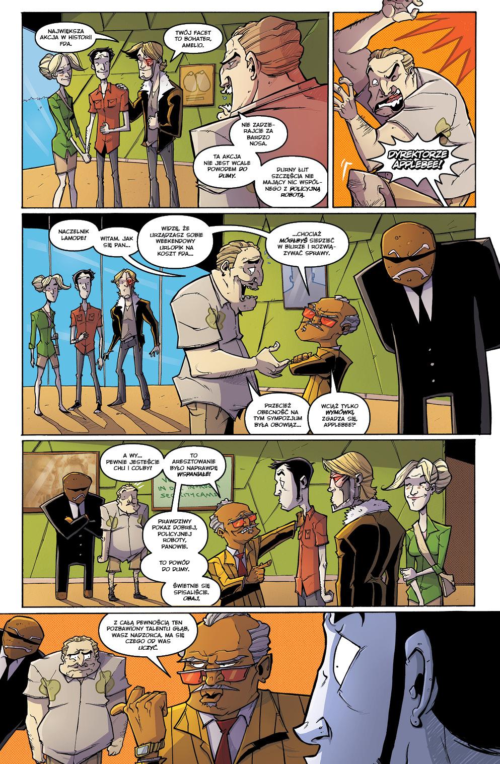 Chew tom 9: Kurczę pieczone przykładowa strona