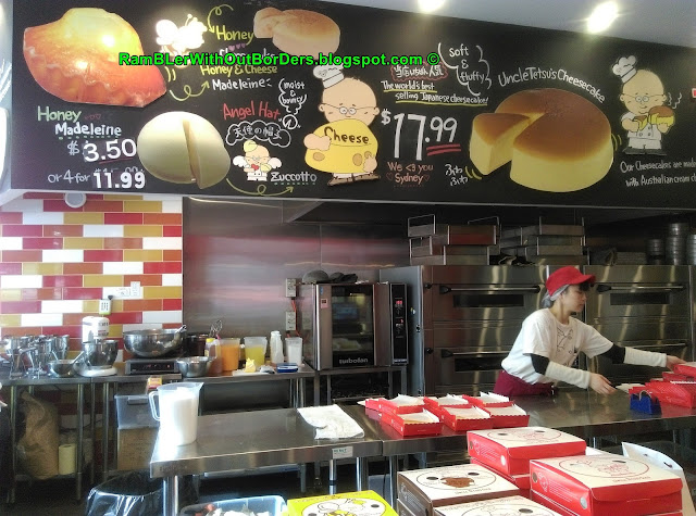 Kitchen, Uncle Tetsu's Cheesecake, Sydney, Australia