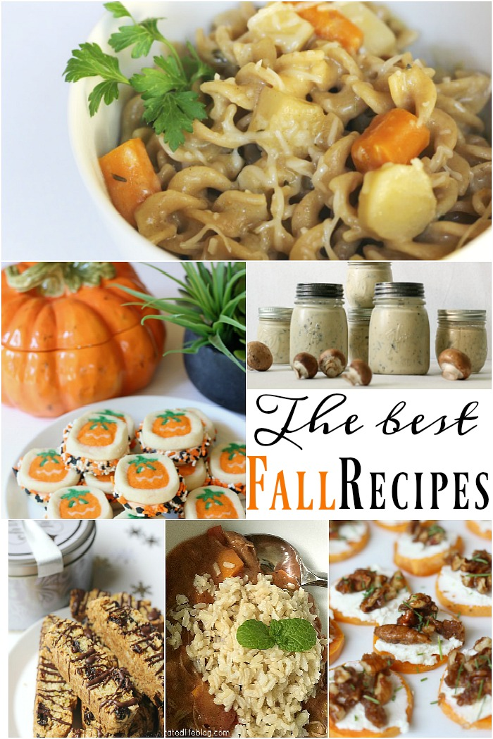 Great list of fall recipes to try, from soups and stews to tailgating parties to Halloween and Thanksgiving recipe ideas