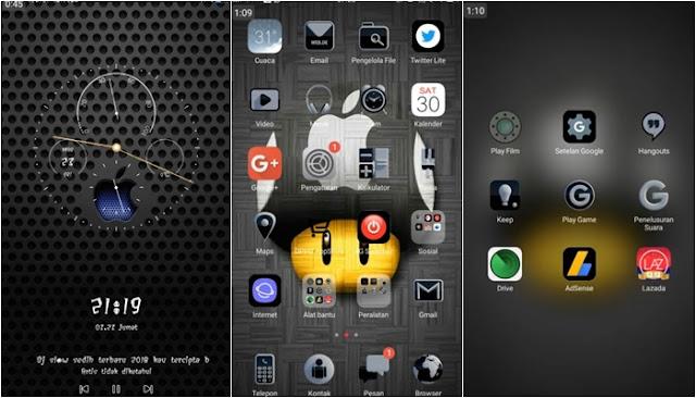 Berbagai tema Android banyak berseliweran di luar sana 13+ Tema iPhone untuk Oppo (ColorOS & iOS) Tembus Akar