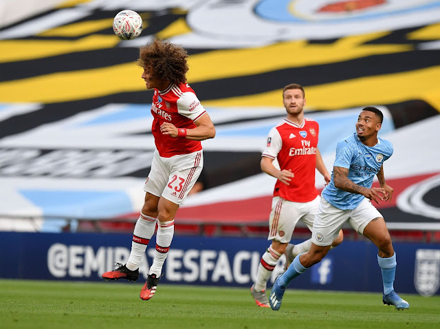 أبرز صور فوز ارسنال على مانشستر سيتي وتأهله لنهائي كأس الاتحاد