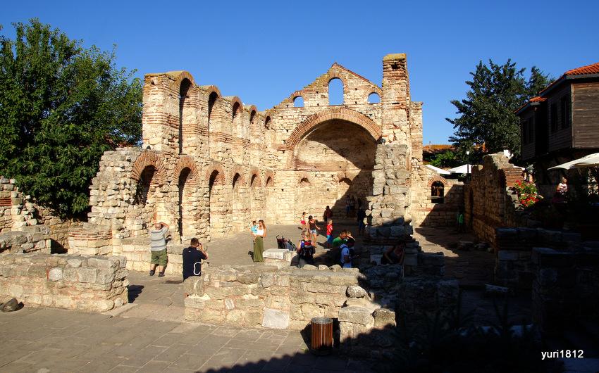 Церковь Святой Софии в Несебре