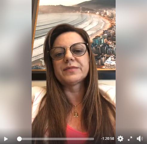Video: Nilza Simas esclarece a polêmica da multa sobre as máscaras