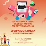 Daftar Peserta Lomba Blog DBP Academy x Tempo Batch 2