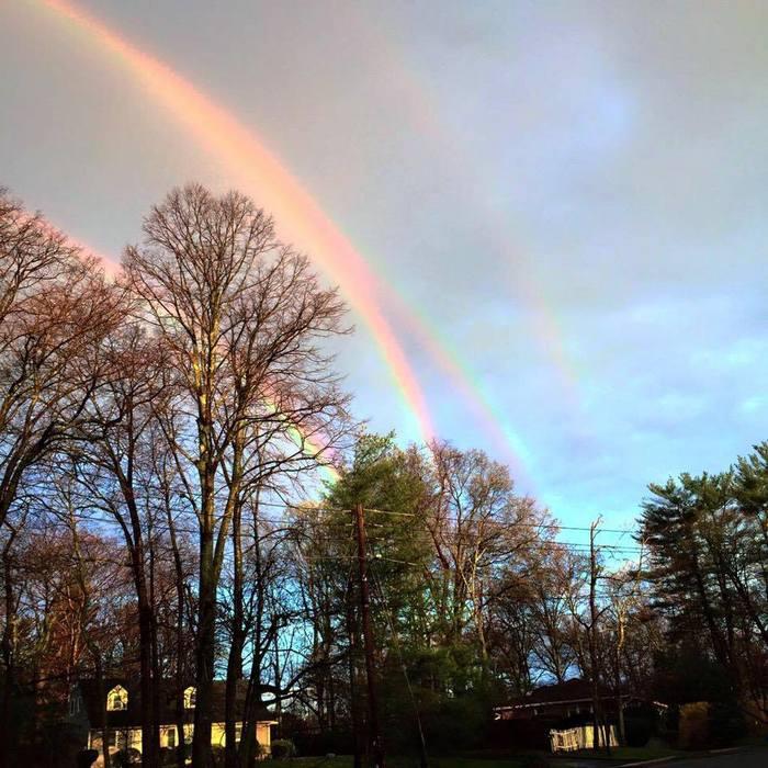 Four rainbows