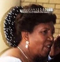 Fringe Tiara Diamond Queen Mamohato Lesotho