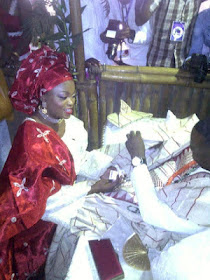 3 Wedding photos: Funke Akindele weds Kenny Almaroof
