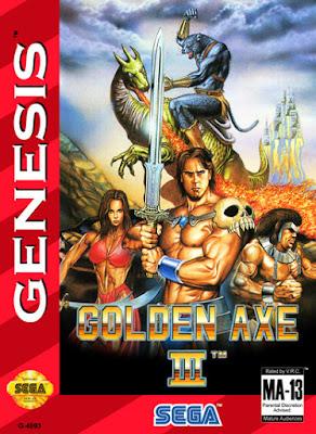 Rom de Golden Axe 3 - Mega Drive em PT-BR