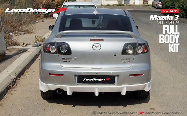 Mazda 3 Bk Lenzdesign Bodykit & Spoilers 2003 2004 2005