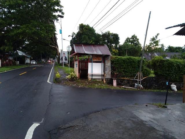 Kelurahan Sarongsong Dua Blokade Jalan Untuk Pencegahan Penyebaran Covid19 dan Mencegah Pencurian