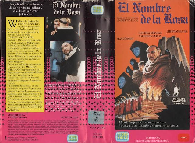 """Pelicula: """"El Nombre de la Rosa"""" - 1986"""