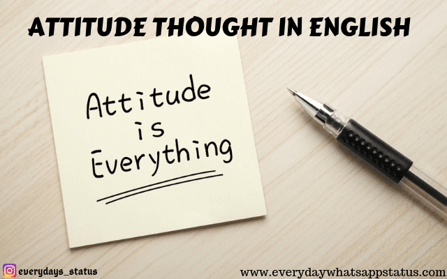 "UNIQUE 10+ ""ATTITUDE THOUGHT IN ENGLISH"" IMAGES"