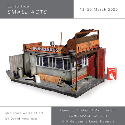 SMALL ACTS art exhibition of miniature art Melbourne 2020