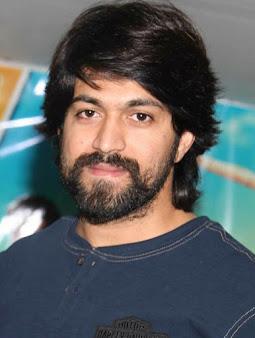 Yash as Raja Krishnappa Bairya / Rocky
