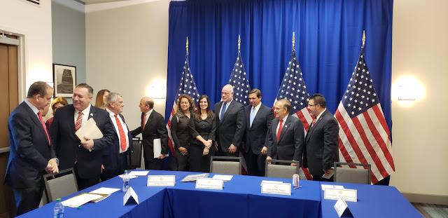 MUNDO: Pompeo aseguró en Miami que se agota el tiempo a Maduro para dejar el poder.