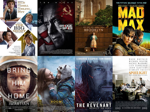 Oscar Cocktails 2016 Best Picture Nominees