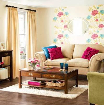 15 Cara Membuat Ruang Tamu Sempit Terlihat Luas - Desain ...