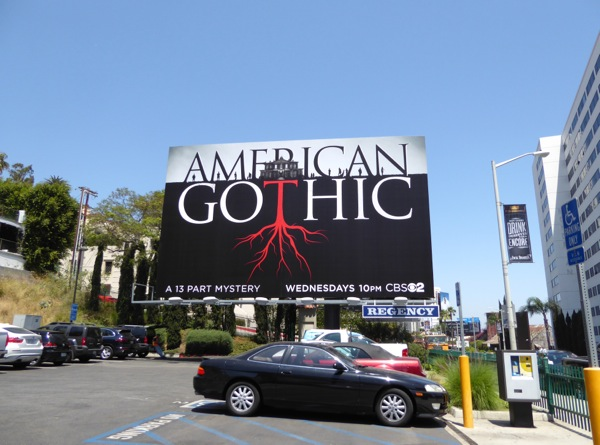 American Gothic TV series billboard