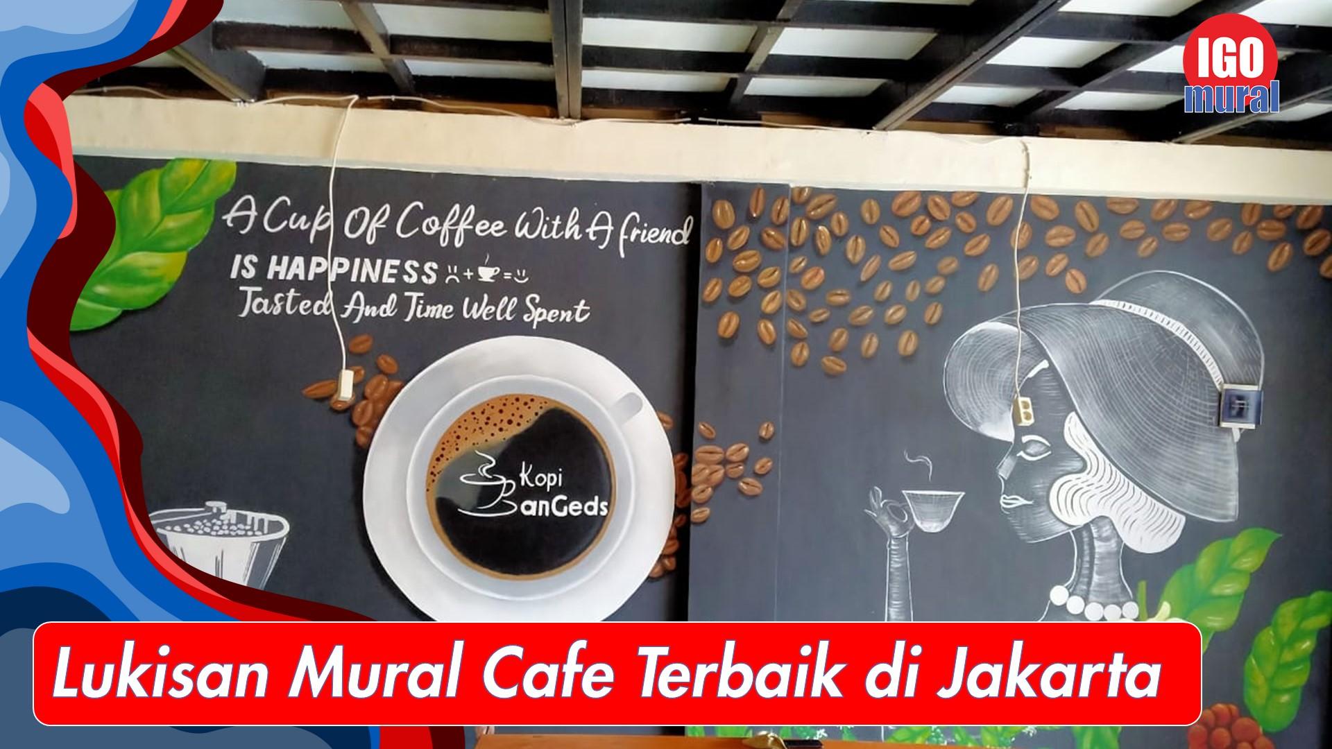 Mural Cafe Murah
