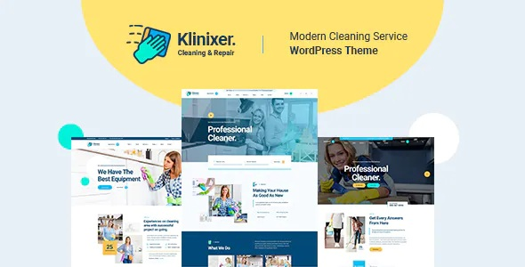 Best Cleaning Services WordPress Theme + RTL