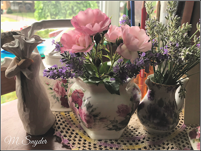 July 11, 2019 Creating a beautiful space on my desk.