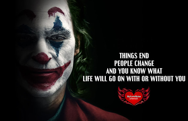 Popular Joker Quotes, Joker & Harley Quinn Love Quotes, Movie Quotes On Life & Relationships