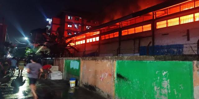 Gudang Farmasi Milik Dinkes DKI Terbakar