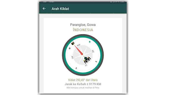 menentukan arah kiblat dengan alquran indonesia