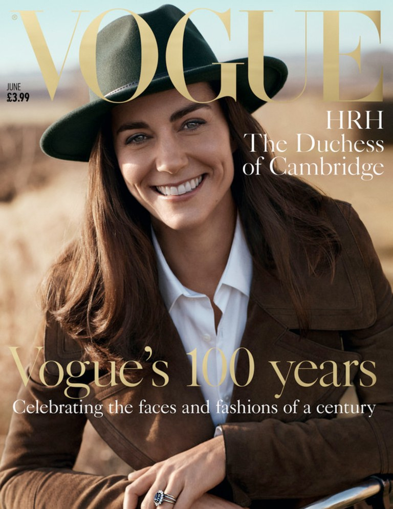Catherine Middleton, H.R.H The Duchess of Cambridge / Vogue UK June 2016 (photography: Josh Olins, styling: Lucinda Chambers, hair: Amanda Tucker, make-up: Sally Branka)