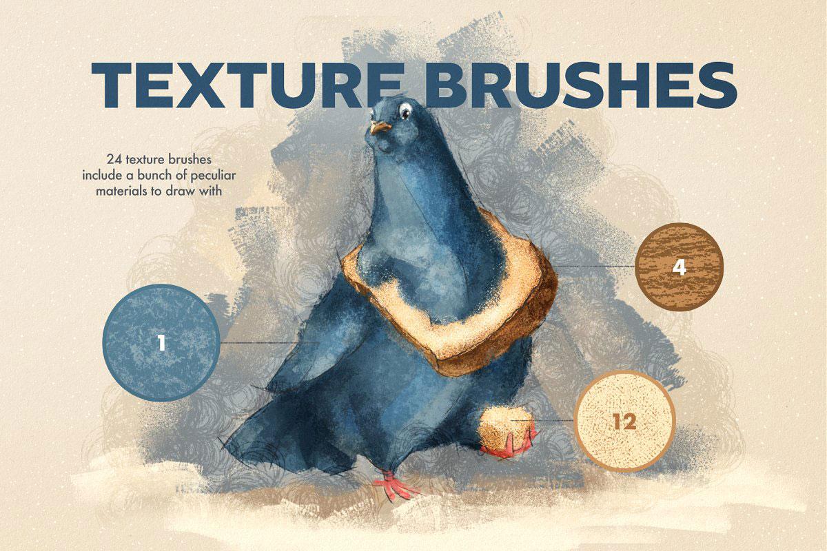 Artista Affinity Designer Brushes 5161011 .