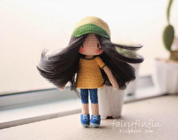 Ravelry: Cookie, the Amigurumi Girl pattern by Serah Basnet | 455x575