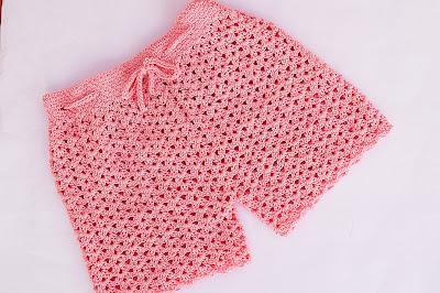 3 - Crochet Imagen Pantalón o short a crochet y ganchillo por Majovel Crochet
