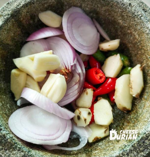 masak ikan pari masak lemak cekur  sedap resepi mudah  cepat  hidangan Resepi Ikan Pari Air Asam Enak dan Mudah