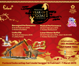 CHINESE NEW YEAR 2015 BERSAMA MIKIE HOLIDAY