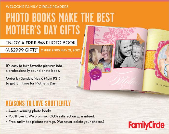 free 8x8 shutterfly book