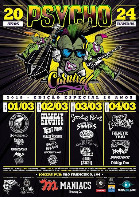 20º Psycho Carnival 2019