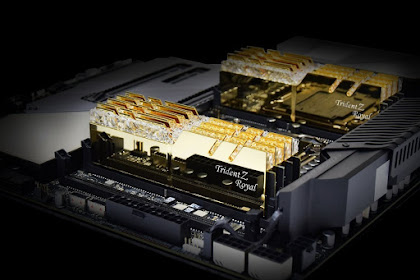 G.Skill Luncurkan 3 Jenis RAM Baru Untuk Komputer High-End