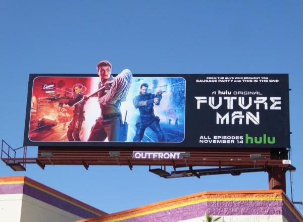Future Man series premiere billboard
