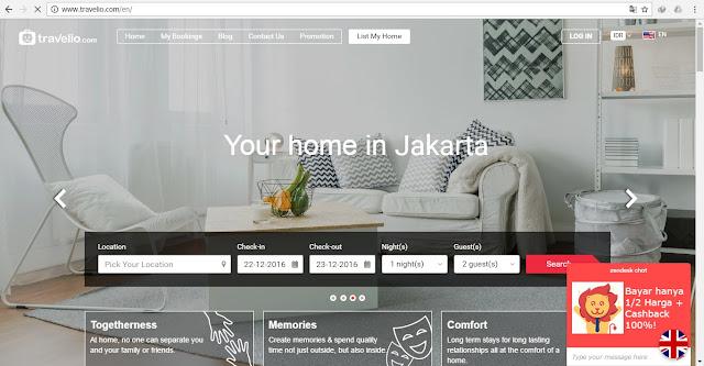 Aplikasi Travelio.com Memudahkan Kamu Untuk Memilih Apartemen dekat Kampus Impian
