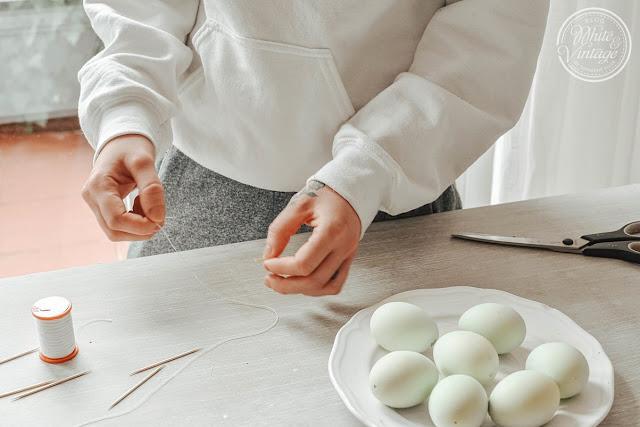 Eier ausblasen