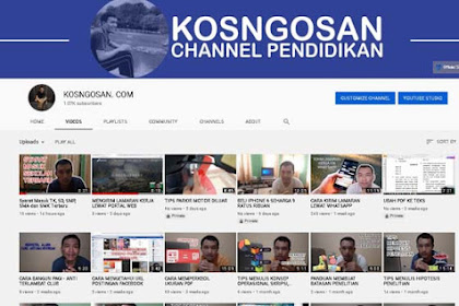 13 Channel YouTube ReUpload Indonesia yang Keren