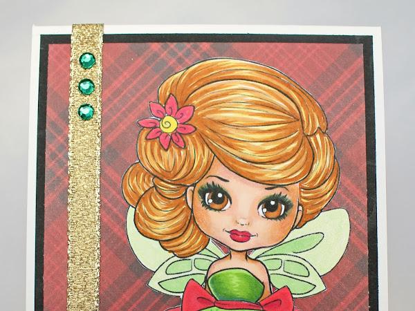 Top-Fold Card featuring Cutie Puff