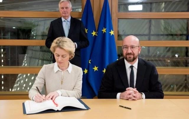Британія та ЄС підписали угоду про Brexit